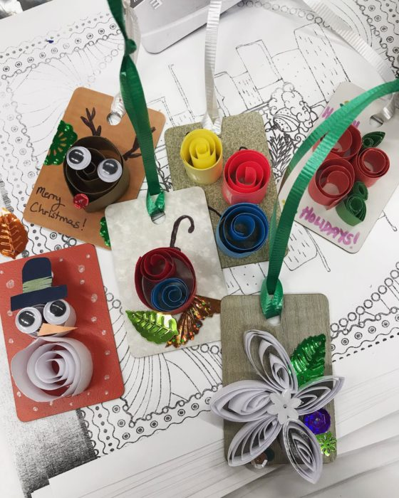 Easy Paper Quilled Ornament Craft