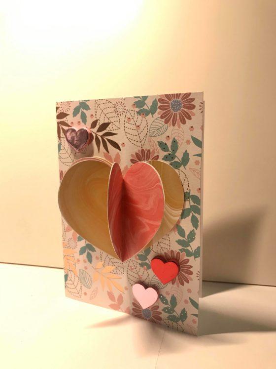 Easy 3D Valentine's Card Tutorial