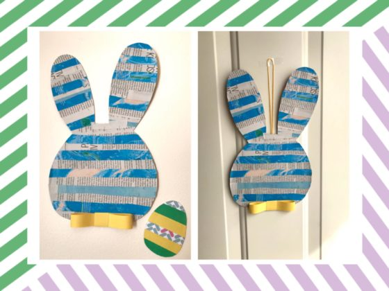 Recycled Easter Bunny Craft