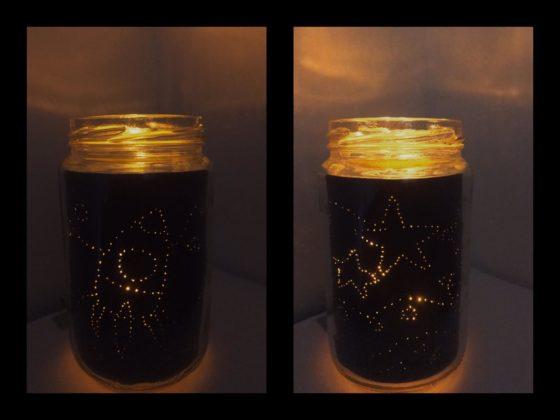 Easy Light Up Jar Craft