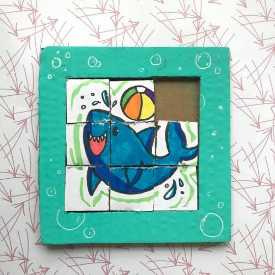 Tile Puzzle Craft