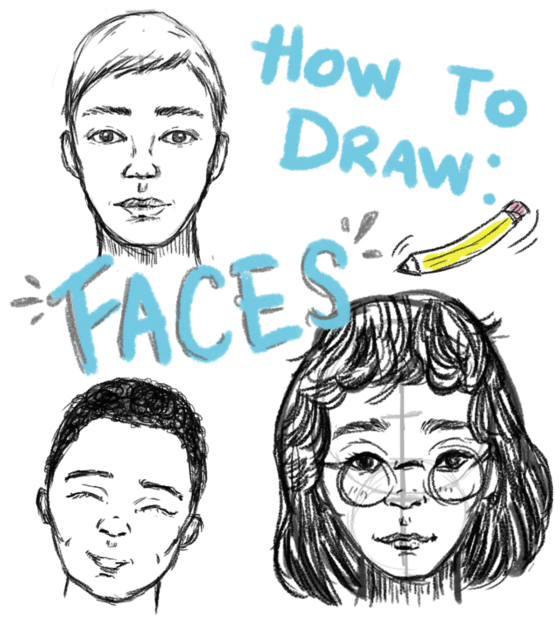 Drawing Face Proportions