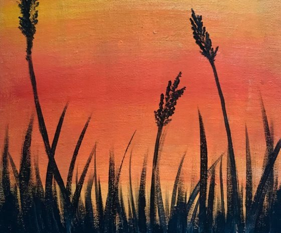 Easy Sunset – How To Paint