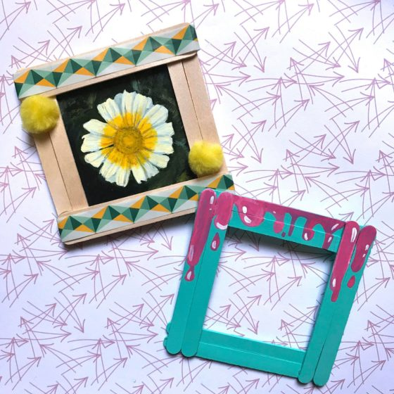 Easy Picture Frame Craft