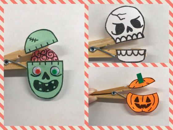 Halloween Clothes Pin Craft