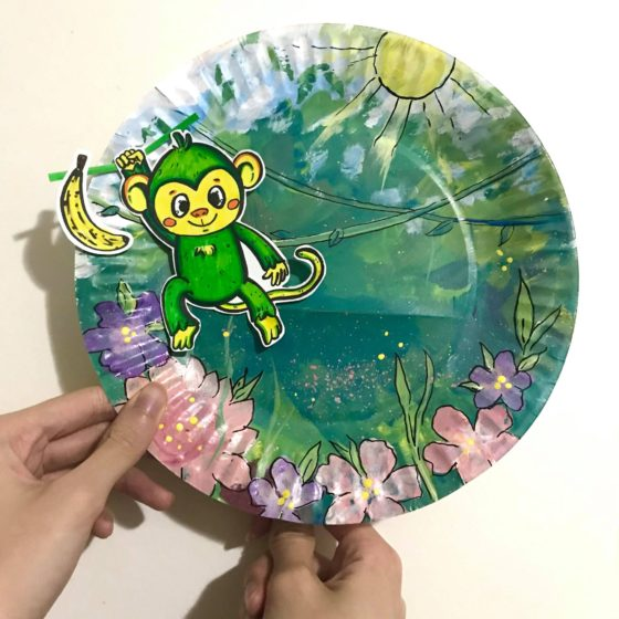 Paper Plate Puppets